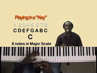Lesson 13 – What it means to play in a key