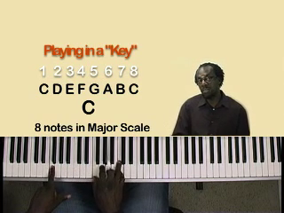 Lesson 14 – Playing in a key