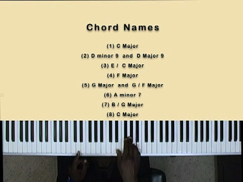 Lesson 36 – Chord Names and Numbers