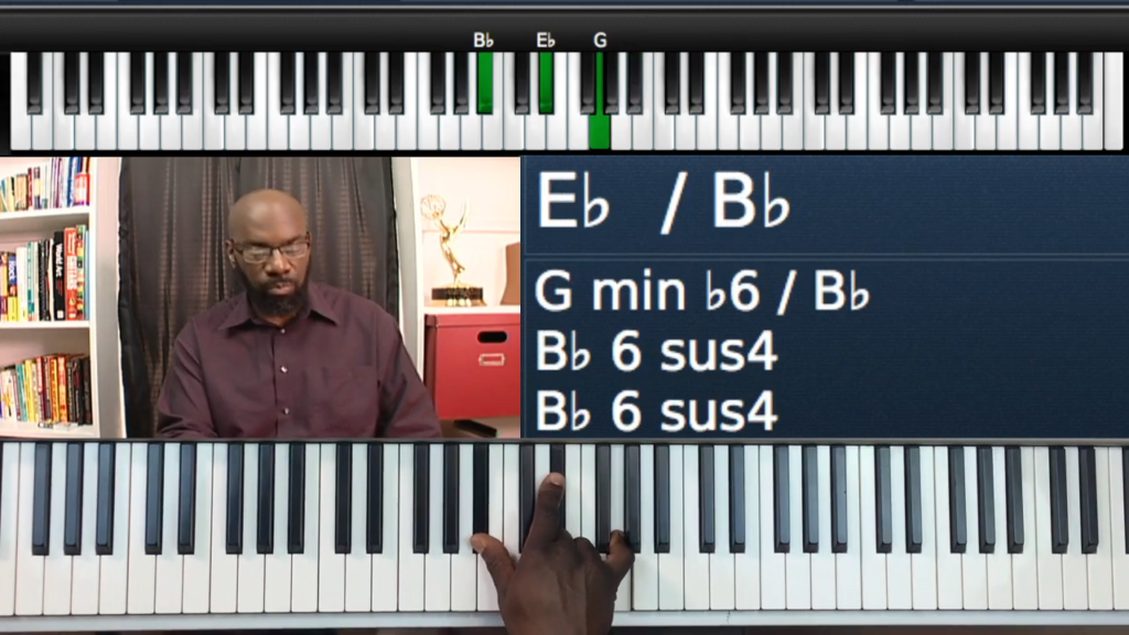 Progressions in Eb Major