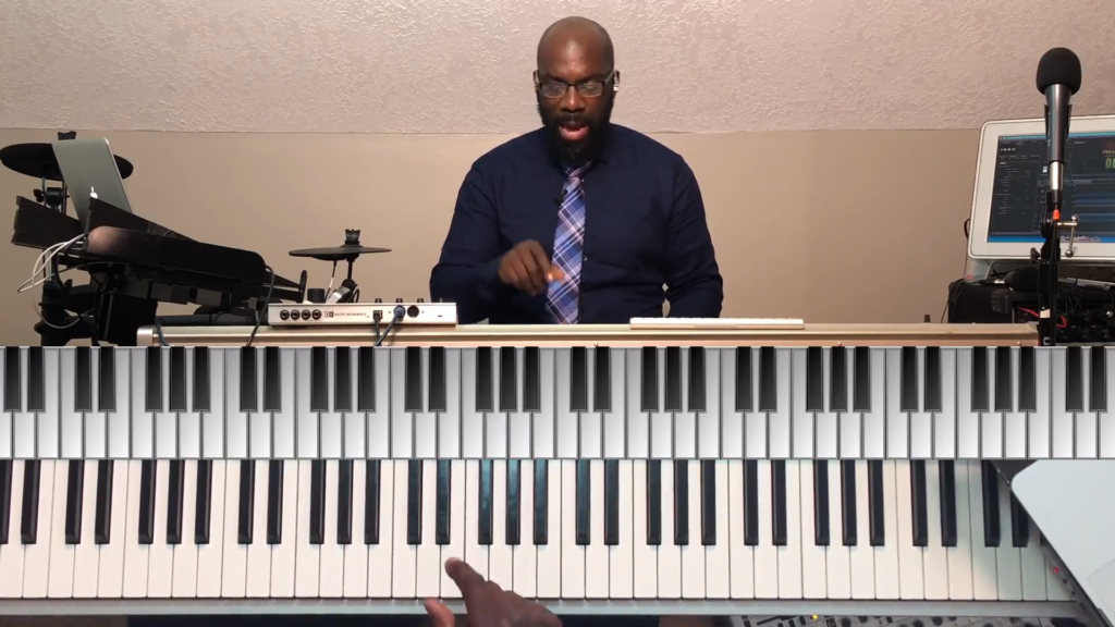 Lesson 6. White Key Test #3 – With Drums