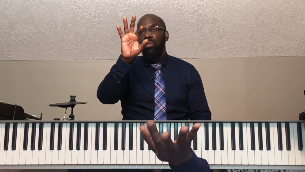 Lesson 10 Right Hand Fingering – C Major Scale