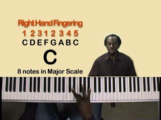 Lesson 9 – Right Hand Scale Fingering